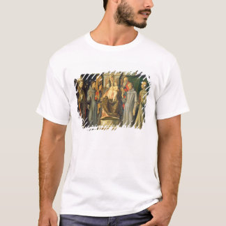 Madonna Enthroned, 1480 (oil on panel) T-Shirt