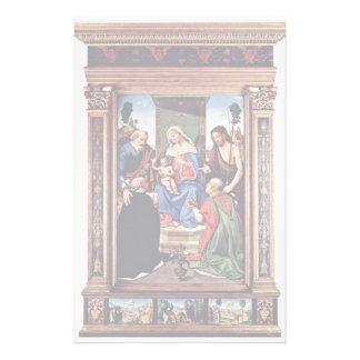 Madonna Enthroned a San Pedro St. John el Papelería