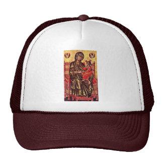 Madonna Enthroned de Italo-Byzantinischer Maler De Gorros