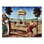 Madonna Enthroned St. Peter St. John The Baptist, Custom Invite