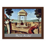 Madonna Enthroned St. Peter St. John The Baptist, Invite