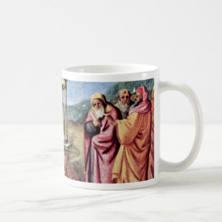 Madonna Enthroned St. Peter St. John The Baptist, Mug