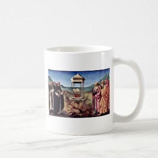 Madonna Enthroned St. Peter St. John The Baptist, Coffee Mug