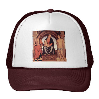 Madonna Enthroned With St. John The Baptist And St Trucker Hat