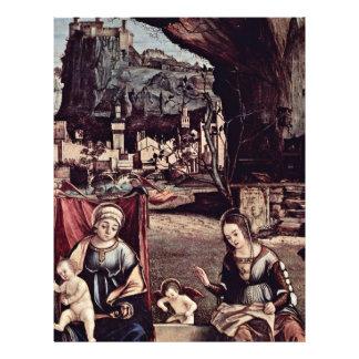 Madonna Enthroned y San Juan Bautista, dejados: Tarjetas Informativas