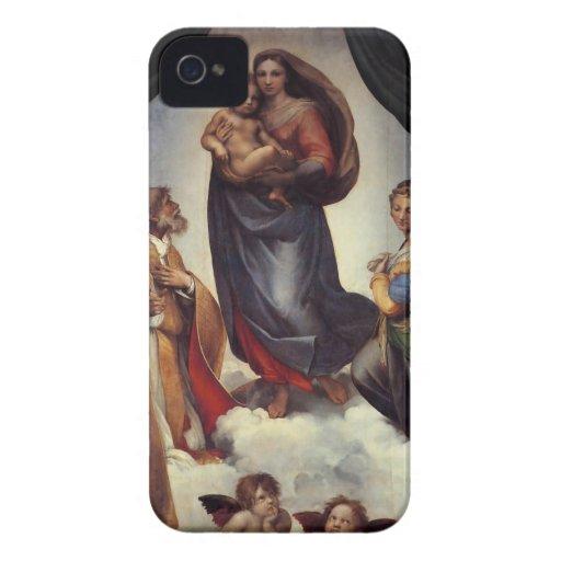 Madonna Fine Art by Raphael iPhone 4 Case-Mate Case