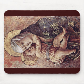 Madonna Fragment Of The Altar Of The Chiesa Degli Mousepad