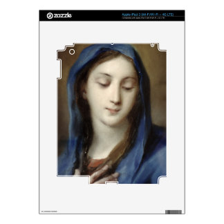 Madonna from the chapel (pastel on paper) iPad 3 decal