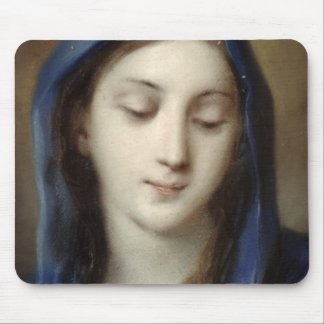 Madonna from the chapel (pastel on paper) mousepads