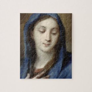 Madonna from the chapel (pastel on paper) puzzles