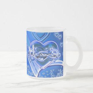 Madonna Frosted Glass Coffee Mug