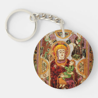 Madonna Holding Baby Jesus Keychain