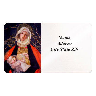 Madonna Holding Child Double-Sided Standard Business Cards (Pack Of 100)