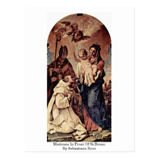 Madonna In Front Of St.Bruno By Sebastiano Ricci Postcard