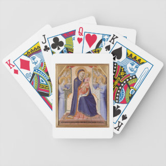 Madonna in Glory, c.1315 (tempera on panel) Bicycle Playing Cards