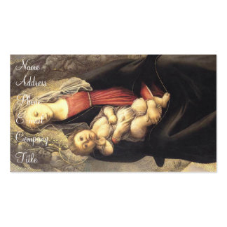 'Madonna in Glory with Seraphim' Business Card