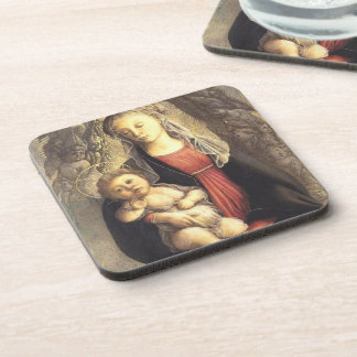 'Madonna in Glory with Seraphim' Drink Coaster