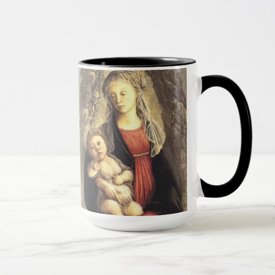 'Madonna in Glory with Seraphim' Mug