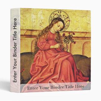 Madonna In The Garden By Unknown Rhenish Master (B Vinyl Binders