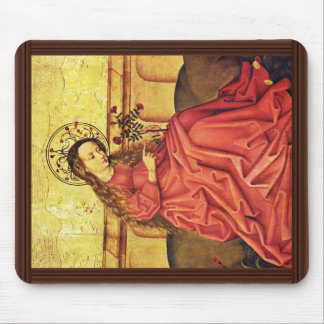 Madonna In The Garden By Unknown Rhenish Master (B Mouse Pad