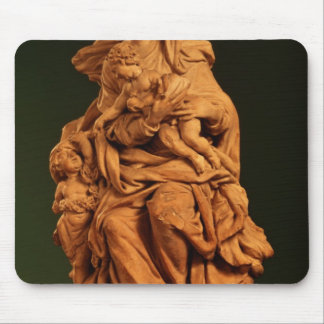 Madonna, Jesus and St. John the Baptist Mouse Pad