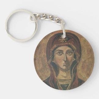 Madonna Keychain