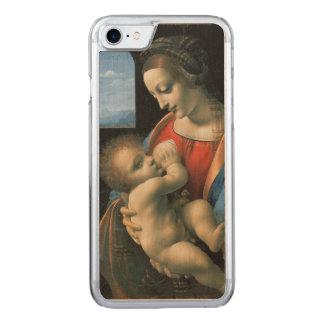 Madonna Litta by Leonardo da Vinci Carved iPhone 8/7 Case
