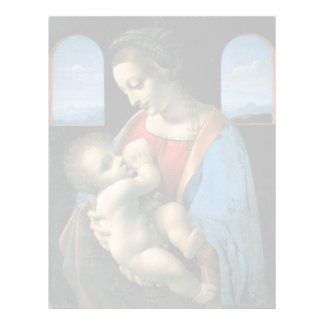 Madonna Litta by Leonardo da Vinci Letterhead