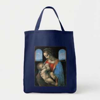 Madonna Litta by Leonardo da Vinci Tote Bag