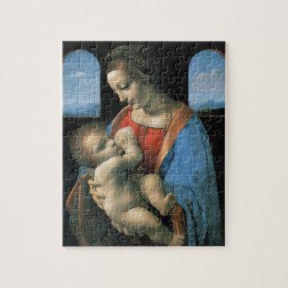 Madonna Litta de Leonardo da Vinci Rompecabezas Con Fotos