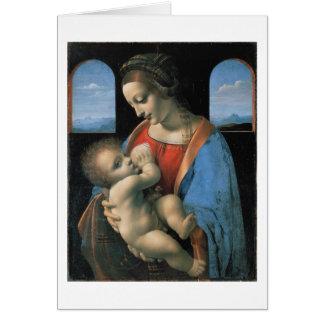 Madonna Litta Leonardo da Vinci Cards