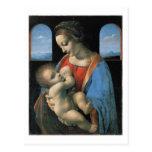 Madonna Litta, Leonardo da Vinci Tarjetas Postales