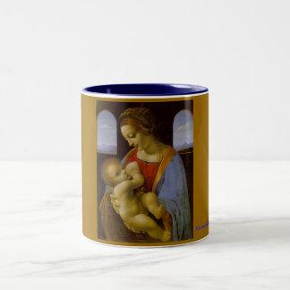 Madonna Litta Two-Tone Coffee Mug