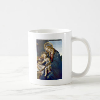 Madonna Madona Child Book religion painting Coffee Mug