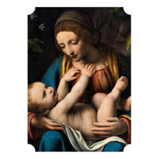 Madonna med Kristusbarnet.pg Card