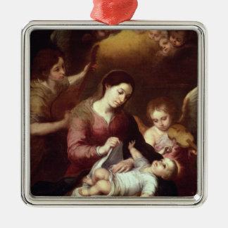 Madonna Metal Ornament