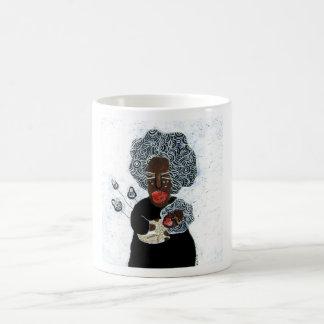 Madonna of Africa Mug by Krize Taza De Café