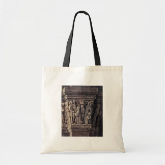 Madonna Of Canon George Van Der Paele  By Eyck Jan Budget Tote Bag