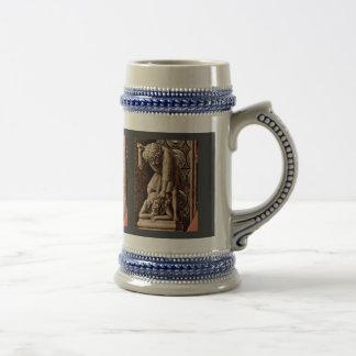 Madonna Of Canon George Van Der Paele Detail By Ey Mug