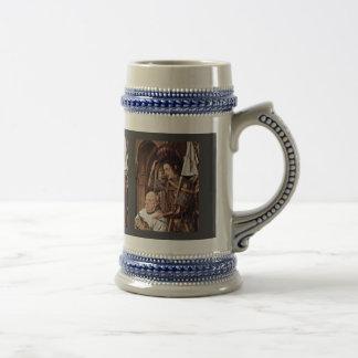 Madonna Of Canon George Van Der Paele Details The Mug