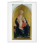Madonna of Humility, c.1410 (tempera on panel) Card