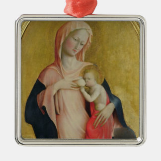 Madonna of Humility, c.1410 (tempera on panel) Metal Ornament