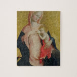 Madonna of Humility, c.1410 (tempera on panel) Puzzle