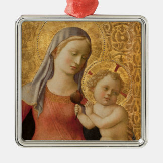 Madonna of Humility Christmas Ornament
