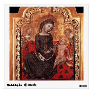 MADONNA OF HUMILITY WALL DECAL