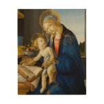 Madonna of the Laws by Botticelli Wood Prints