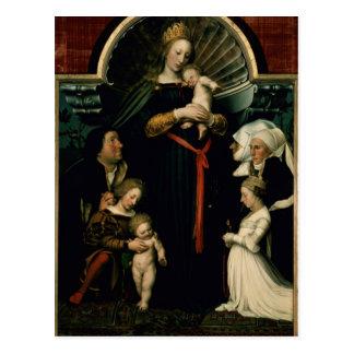 Madonna of the Burgermeister Meyer Postcard