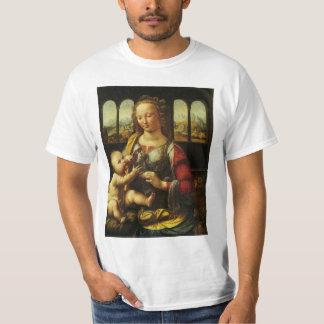 Madonna of the Carnation by Leonardo da Vinci T-Shirt
