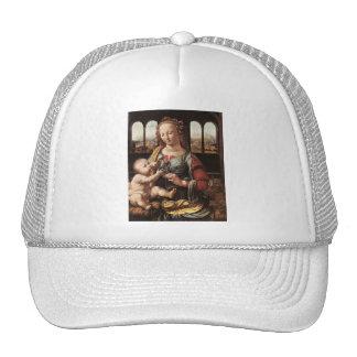 'Madonna of the Carnation' Trucker Hat