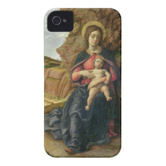 Madonna of the Cave, 1488-90 (tempera on panel) iPhone 4 Case